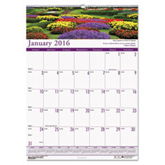Gardens of the World Monthly Wall Calendar, 12 x 16-1/2, 2016