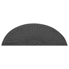 EcoGuard Diamond Floor Mat, Fan Only, 24 x 48, Charcoal MLLEGDFAN020404