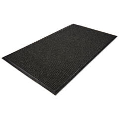 WaterGuard Wiper Scraper Indoor Mat, 36 x 60, Charcoal MLLWG030504