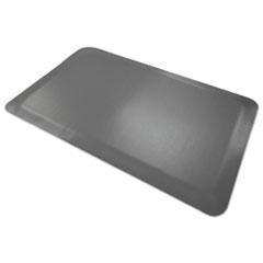 Pro Top Anti-Fatigue Mat, PVC Foam/Solid PVC, 24 x 36, Gray MLL44020350