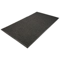 EcoGuard Indoor/Outdoor Wiper Mat, Rubber, 48 x 72, Charcoal MLLEG040604