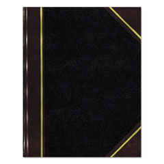 Texthide Record Book, Black/Burgundy, 300 Green Pages, 10 3/8 x 8 3/8