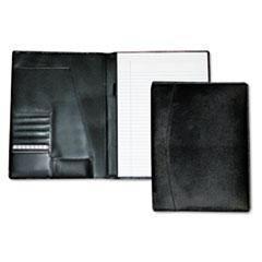 Mens Classic Pad Folio/Writing Pad, 8 1/2 x 11, Black, Each
