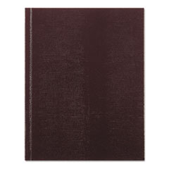 Executive Notebook, College/Margin Rule, 9 1/4 x 7 1/4, White, 150 Sheets