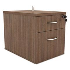 Alera Sedina Series Hanging Box/File Pedestal, 15 3/8w x 22d x 19h Modern Walnut
