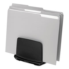 I-Spire Series File Station, Three Sections, 7 3/4 x 5 5/8 x 6 7/8, Gray