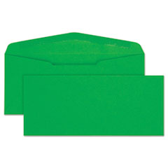 Colored Envelope, #10, 4 1/8 x 9 1/2, Green, 25/Pack