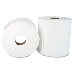 """Center-Pull Hand Towels, 2-Ply, Perforated, 7 7/8"""" x 10"""", 600/Roll, 6 Rolls/Ctn"""