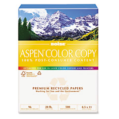 COU ** ASPEN Color Copy Paper, 96 Brightness, 28lb, 8-1/2 x 11, White, 500 Sh at Sears.com