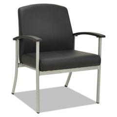 Alera metaLounge Series Guest Chair, 25 5/8 x 26 3/8 x 34 5/8, Black