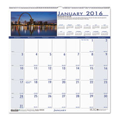 National Monuments Monthly Wall Calendar, 12 x 12, 2016