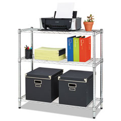 SHELVING,WIRE,36X14,3S,SV