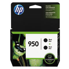 HP 950, (L0S28AN) 2-pack Black Original Ink Cartridge