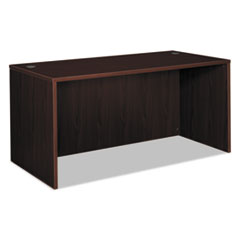 BL Laminate Series Rectangular Desk Shell, 60w x 30w x 29h, Mahogany