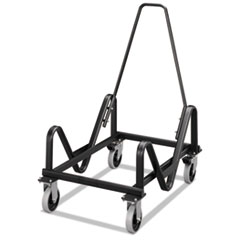 GuestStacker Cart, 21-3/8 x 35-1/2 x 37-7/8, Black