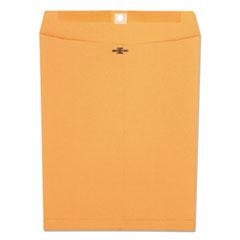 Kraft Clasp Envelope, Center Seam, 32lb, 10 x 13, Brown Kraft, 100/Box