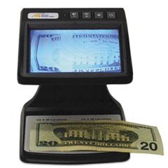 RCD-4000D Infared Camera Counterfeit Detector, 5 1/4 x 4 3/4 x 6 1/8, Black