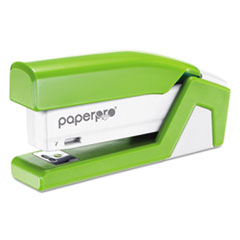 inJoy 20 Compact Stapler, 20-Sheet Capacity, Green