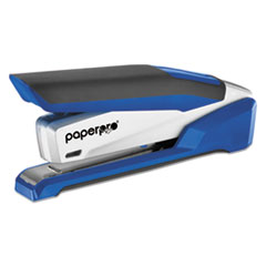 inPOWER+ 28 Premium Desktop Stapler, 28-Sheet Capacity, Blue/Silver