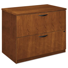 BW Veneer Series Two-Drawer Lateral File, 36 x 24 x 29,Bourbon Cherry