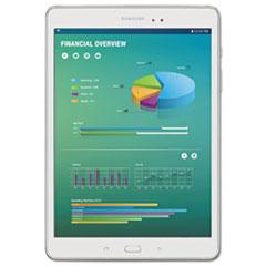 "Galaxy Tab A 8.0"" Tablet, 16 GB, Wi-Fi, White"