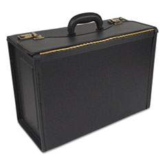 STEBCO Collection Tufide Classic Catalog Case, 22-1/4 x 8-3/4 x 13-1/2, Black
