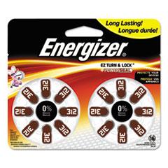 Hearing Aid Battery, Zero Mercury Coin Cell, 312, 1.4V