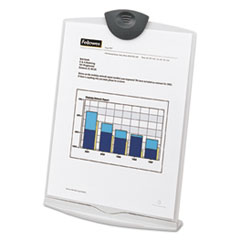 Copy Stand, Plastic, 75 Sheet Capacity, Platinum/Charcoal