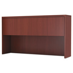 Aberdeen Series Laminate Wood Door Hutch, 72w x 15d x 39 1/8h, Cherry