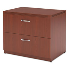 Aberdeen Series Freestanding Lateral File, 36w x 24d x 29½h, Cherry