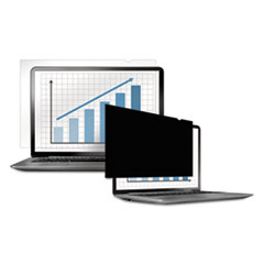 "PrivaScreen Blackout Privacy Filter for 14.1"" Widescreen LCD/Notebook, 16:9"