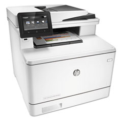 Color LaserJet Pro MFP M477fdn, Copy/Fax/Print/Scan