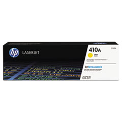 HP 410A, (CF412A) Yellow Original Toner Cartridge