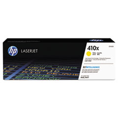 HP 410X, (CF412X) High-Yield Yellow Original LaserJet Toner Cartridge