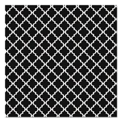 "Fadeless Designs Bulletin Board Paper, Classic Moroccan Black, 48"" x 50 ft."