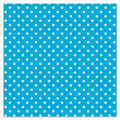 """Fadeless Designs Bulletin Board Paper, Classic Dots Aqua, 48"""" x 50 ft."""