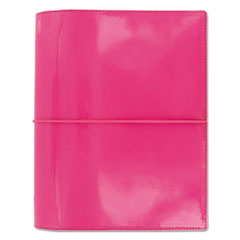 Domino Patent A5 Organizer, 8 1/4 x 5 3/4, Pink, 2017