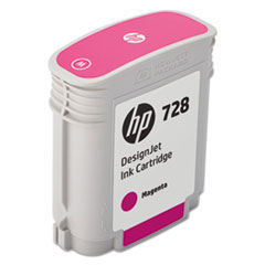 HP 728 (F9J62A) Magenta Original Ink Cartridge, 40 mL