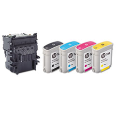 HP 729 (F9J81A) Printhead, Black, Cyan, Magenta, Yellow