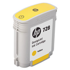 HP 728 (F9J61A) Yellow Original Ink Cartridge, 40 mL