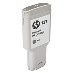 HP 727 (F9J80A) Gray Original Ink Cartridge, 300 mL
