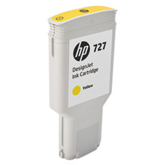 HP 727 (F9J78A) Yellow Original Ink Cartridge, 300 mL