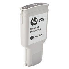 HP 727 (F9J79A) Photo Black Original Ink Cartridge, 300 mL