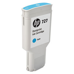 HP 727 (F9J76A) Cyan Original Ink Cartridge, 300 mL