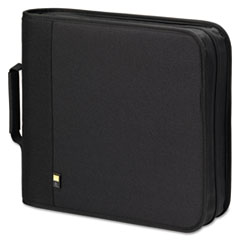 CD/DVD Expandable Binder, Holds 208 Discs, Black