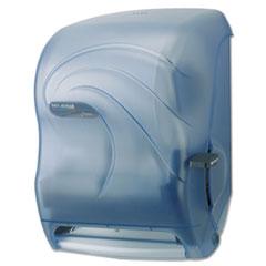 Lever_Roll_Towel_Dispenser_Oceans_Arctic_Blue_16_34_x_10_x_12