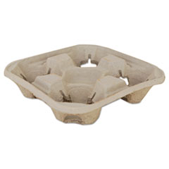 Molded_Fiber_Drink_Carriers_8-32oz_Cups_4-Cup_Tray_9_1_4x9_1_4x2_1_4_300_CT