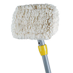 """""""Wall_Washer_Kit_White_Cotton_Pads_9w_x_5d_60""""""""_Handle_Grey_Handle"""""""