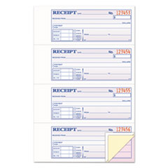 RECEIPT BOOK, 7-5/8 X 11,