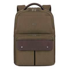 "Executive Backpack, 15.6"", 11 1/2"" x 3 17/20"" x 18 1/10"", Khaki"